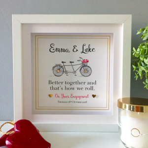 Engagement / Wedding Bicycle