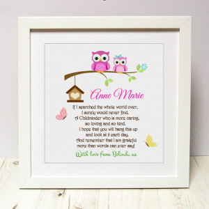 childminder gift www.ascuteasabutton.ie