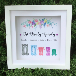 wellies frame