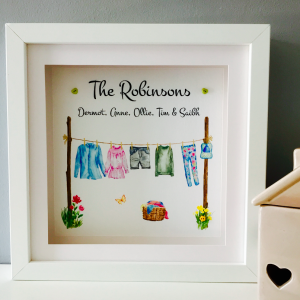 clothes line personalised