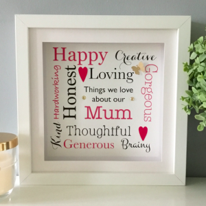 As Cute as a Button personalised frames Prints. Unique