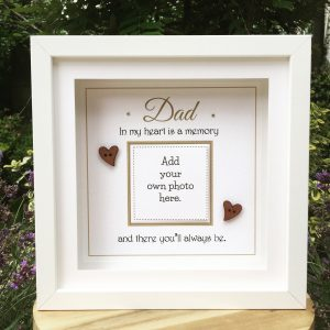 Memorial Gift personalised as cute as a button